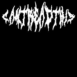 Ich kann das nicht lesen - Death Metal Geschenk