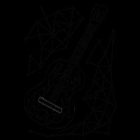 Gitarrenspur