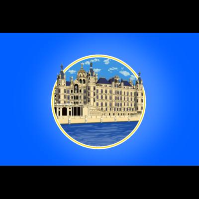 Schweriner Schloss Poster - Schweriner Schloss Poster - schweriner schloss,schweriner,schwerin,märchenschloss,märchen,icon,Wahrzeichen,Sehenswürdigkeiten,Sehenswürdigkeit,Schwerin,Schloss