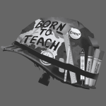 Born to teach science N&B
