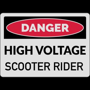 High Voltage Rider