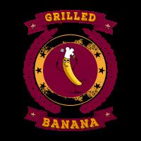 Grilled Banana - Barbecue BBQ Vegetarisch Vegan