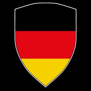 GERMANY FLAG SHIELD