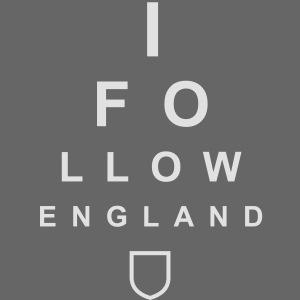 I Follow England - Eye Test (Women's T-shirt)