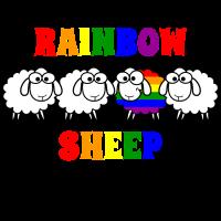 Ich bin das bunte Schaf der Familie Geschenk LGBT