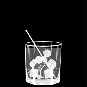 Gin Tonic auf Eis mit Gurke - frisch und lecker!