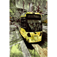 Straßenbahn bei MediaCityUK