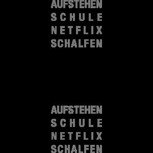 Mein Schüleralltag mit Netflix