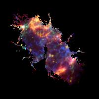 Sternenhimmel Maler Supernova Weltall Sterne 04