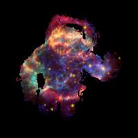 Supernova Astronaut Sternenhimmel Weltall 02