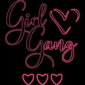 Beste Freunde Shirt für 3 - Girl Gang