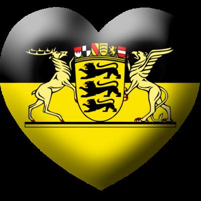 love_badenwuerttemberg - I Love Baden Württemberg, Ein Herz fürs Baden Württemberg - love,herz,Wappen,Stuttgart,I love,Flagge,Baden Württemberg