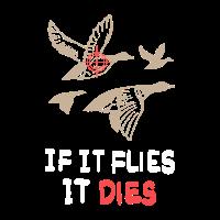 Jagen, wenn es fliegen kann dann erlege ich es