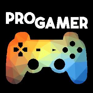 PRO GAMER Controller Bunt