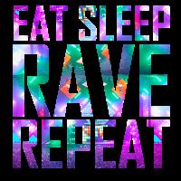 Eat Sleep Rave Repeat | Buntes Festival