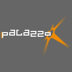 Palazzo Logo Klassik - auf schwarz / on black