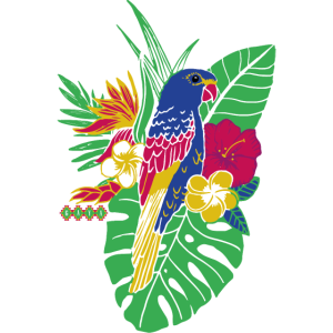 gaya flower parrot