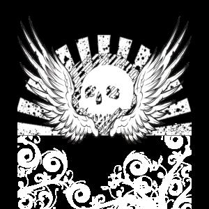 Skull Totenkopf Metal Gothic Hardrock Heavy Metal