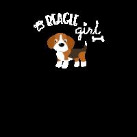 Beagle Girl Hunde Geschenk Lustig Cool Vierbeiner