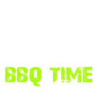 BBQ Time Skull Knifes Grillparty Grillfest