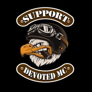 Poster DEVOTEDMC SUPPORT 1x1 Eagle