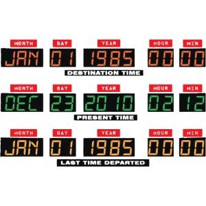 Back To The Future DeLorean Time Travel Console