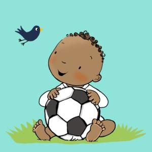 Cute Boy with ball