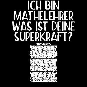 MATHELEHRER SUPERKRAFT PI GESCHENK