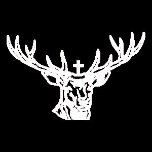 Hirschgeweih Hirschkopf