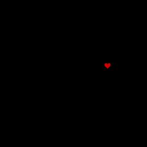 Brusttasche Anker mit Herz