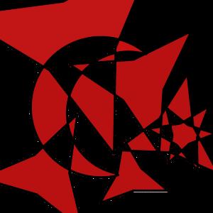 Krieg der Sterne rot