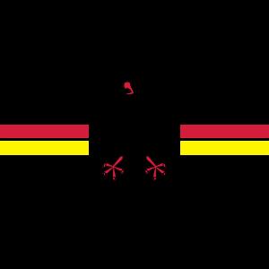 Deutschland Wappen breit