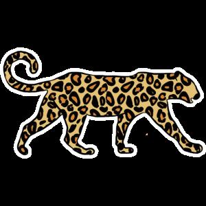 Leopard Geschenk