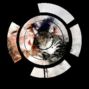gxp watercolor cat girl - wasserfarben katze mädel