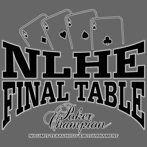 NLHE finaalipöytä (musta)