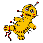 Digital - Voodoo Puppe Doll Funny Game Hawaii Tattoo Horror Psychopath
