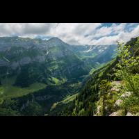 Schweizer Alpen. Seealpsee