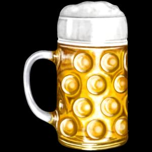 Bier Bierkrug Bierzelt Illustration
