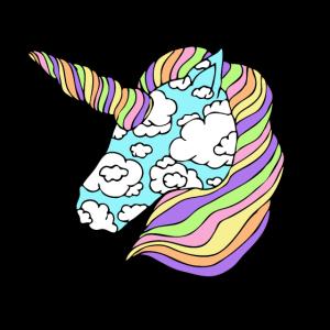 Süßes Einhorn Regenbogen Geschenk Regenbogen