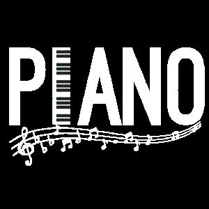 Piano Geschenk Klavier Musiker Flügel Keyboard