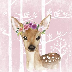 Wald Freunde im Rosa Märchenwald - Das süße Reh