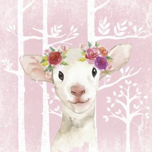 Wald Freunde im Rosa Märchenwald - Das süße Lamm