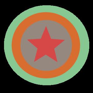 Alternativ Kreis Stern