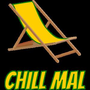 chill mal - liegestuhl