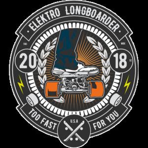 Elektro Longboard Skateboard