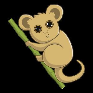 Koboldmaki - Spirit Animal - Comic - Geschenk
