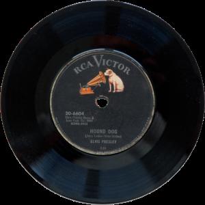 Schallplatte von 1956 - Elvis