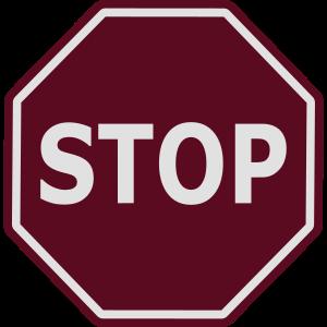 STOP dunkel