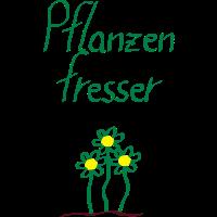 Pflanzenfresser mit Blumen