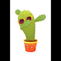 Cactus Dabbing Dab Dance